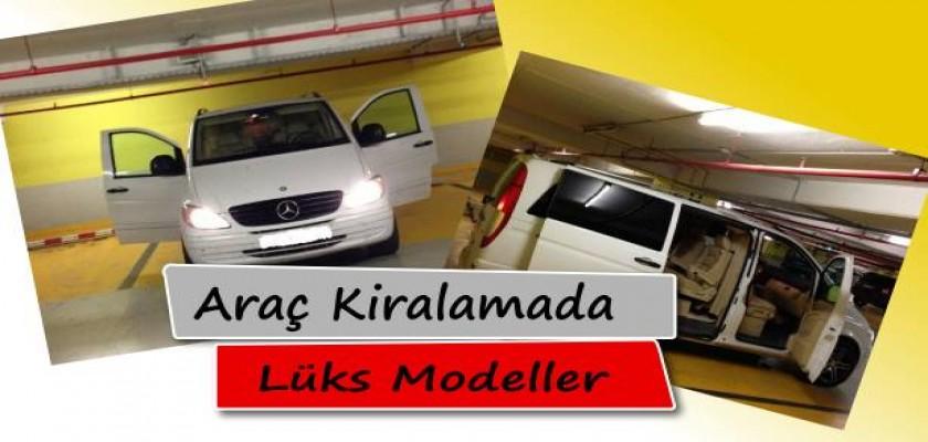 Araç Kiralamada Lüks Modeller