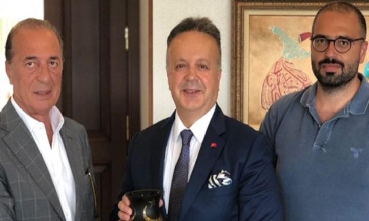 Aygün Alüminyum Yönetimi, TİM Başkanı İsmail Gülle'ye Ziyaret