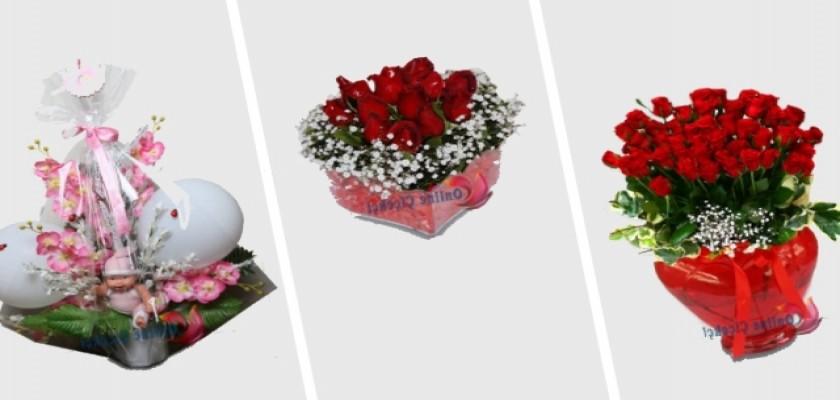 İnternetten Çiçek Sipariş Vererek Sevdiklerinizi Mutlu Edin