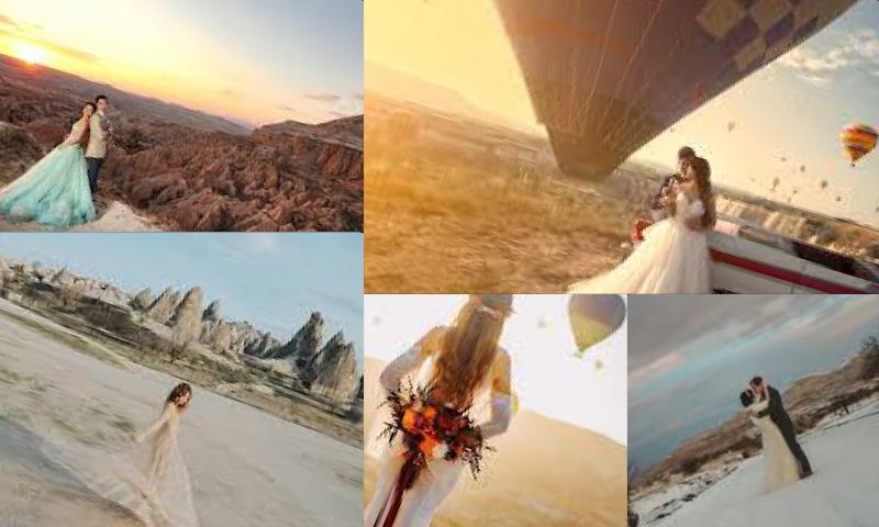 Cappadocia Wedding Photographer Çekimleri