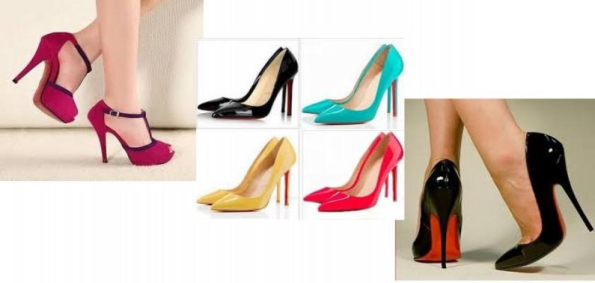 Stiletto Ayakkabılarda Sezonun Moda Renkleri